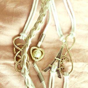 Matching Paris bracelets
